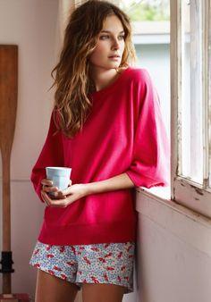 Bed Shorts   Cotton Pyjamas   hush   hush-uk.com