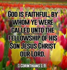 1 Corinthians 1:9 KJV