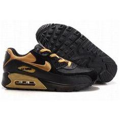size 40 b8150 f0939 Nike Air Max 90 Black Gold , Price   72.89 - Ken Griffey Shoes Cheap Nike