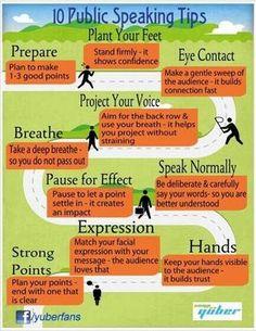 10 Public Speaking Tips #publicspeaking