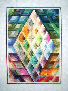 Strip quilt by Elsie M. Campbell