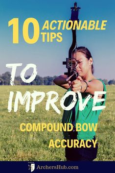 Struggling with compound bow accuracy? Level up with these 10 ACTIONABLE Tips to Improve Your Compound Bow Accuracy, over at … Archery Lessons, Archery Tips, Archery Hunting, Archery Targets, Coyote Hunting, Pheasant Hunting, Archery Quiver, Bow Quiver, Hunting Arrows