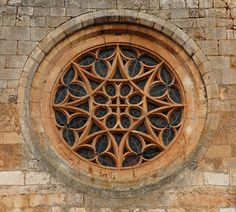 Gothic rose window – Collegiate of Covarrubias – architecture - architecture house Sacred Architecture, Detail Architecture, Architecture Tattoo, Concept Architecture, Amazing Architecture, Windows Architecture, Cathedral Windows, Church Windows, Architecture Religieuse