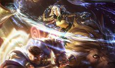 Sejuani cazadora de amaneceres| League of Legends