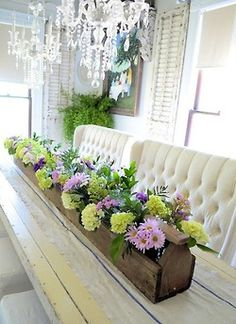1000 Images About Long Table Decor On Pinterest Long