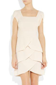 TEMPERLEY LONDON  Simonette tiered crepe dress