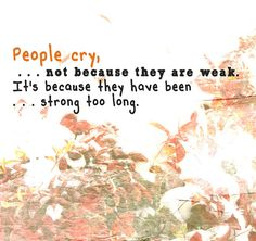 People Cry by Hummie~, via Flickr