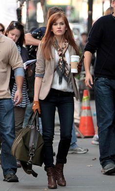 Isla Fisher - Isla Fisher and Jesse Eisenberg Films 'Now Your See Me'