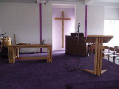 eiken kerk interieur