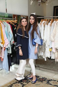 Look of the Day: Amber Gohar and Anushaye Nabeel - Sunday Kurti Designs Party Wear, Kurta Designs, Indian Designer Outfits, Designer Dresses, New Suit Design, India Fashion, Asian Fashion, Indian Attire, Pakistani Outfits