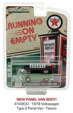 1:64 Greenlight Running on Empty Series 3 -  1979 Volkswagen Type 2 Panel Van  #GreenLight #Volkswagen