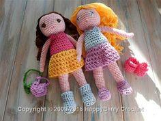Amigurumi Boy Doll Pattern : Free crochet charlie and sally doll pattern crochet doll pattern