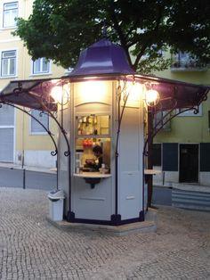 Kiosk Store, Mall Kiosk, Shops, Pavement, Urban Design, Portuguese, Gazebo, Traditional, Times