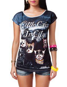 Deal der Woche - Damen: T-Shirts mit Grossdruck und unterschiedlichen Motiven. 7,90 €, statt 19,90 € (- 60%) https://www.24brands.de/damen/t-shirts-in-unterschiedlichen-ausfuehrungen/a-2616/