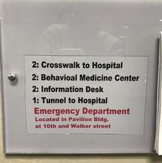 The hospital worker who's hopefully better at healthcare than they are at sign-making. | 18 People Who Seriously Need To Go Back To School