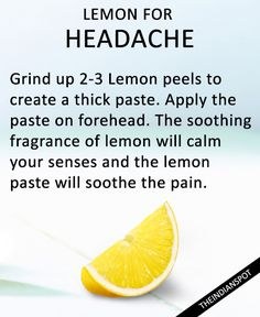 BEST HOME REMEDIES USING LEMON