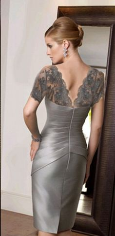 Mother of the bride or groom dress Mother Of Groom Dresses, Bride Groom Dress, Mothers Dresses, Mother Of The Bride, Groom Outfit, Pretty Dresses, Elegant Dresses, Beautiful Dresses, Mob Dresses