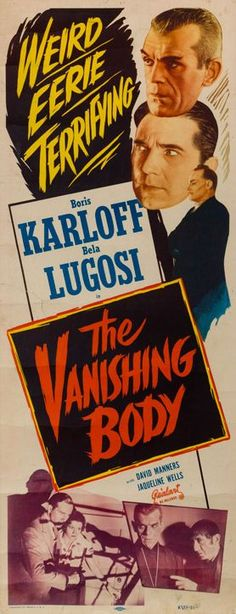 The Vanishing Body (1934)