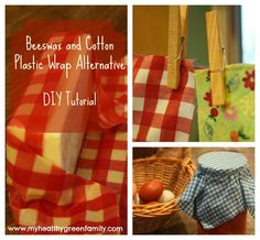 Plastic Wrap Alternative: DIY Beeswax Cotton Wraps