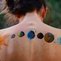 Paint the universe Be the universe #bohemian #art #hippie