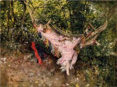 The Hammock - Giovanni Boldini