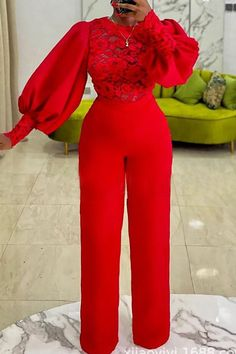 Red Jumpsuit, Jumpsuit With Sleeves, Fall Fashion Outfits, Grey Fashion, Stitch Fit, Wholesale Clothing, Shoes Wholesale, Fashion Seasons, White Casual