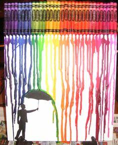 Make melted crayon boxes June 25!