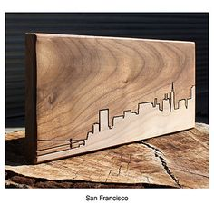 City Skyline Wood Routing
