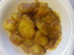 Aprendí a cocinar y ¡menuda cruz!: Patatas al Azafrán