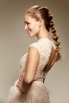 Simplicity at its best: A simple hairstyle that is sure to turn a simple ponytail into an eye-catching look. #nivea #hair #style #elegant #ponytail #hairtutorial #tutorial #diy
