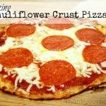 Cauliflower Crust Pizza - I plan on steaming my cauliflower instead of microwaving it