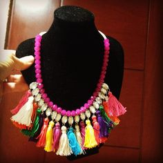 Colorizate con este collar!! Ideal para ti!! #elregaloperfecto enamórate de #josku #collares #inspiracionmexicana #mexicanizate #nuevosmodelos  NUEVOS MODELOS!! haz tu pedido!