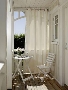 13 идей для уютного балкона 7