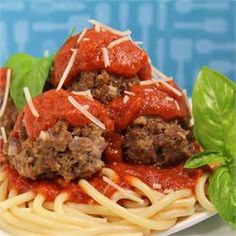 All beef meatballs.  Made them and were good enough to pin