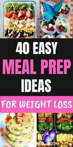 40+ Healthy Meal Prep Ideas to Simplify Your Life - SaurabhAnkush List of 41+ Healthy Meal Prep Ideas for a week & Healthy Meal Prep Recipes for the week for beginners. You'll fall in love with these easy meal prep ideas for beginners, meal prep ideas for weight loss recipes & meal prep recipes as they are special & need less work. #mealprepideas #mealpreprecipes #mealprepideasforbeginners<br> OMG! My Special list of 41+ Healthy Meal Prep Ideas & Meal Prep Recipes for beginners which will…