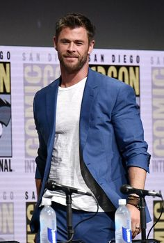 Chris Hemsworth ©Rob Latour // Marvel Studios panel, Comic-Con International, San Diego, USA - 22 Jul 2017
