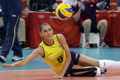 Jaqueline Carvalho (volley-ball, Brésil) : JO 2016 : les plus belles et les plus…