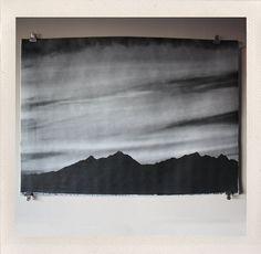Sunset Noir Large Format Print by HANDSworkshop on Little Paper Planes