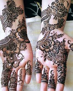 Latest Simple and Easy Mehandi Design Mehandi Design for Wedding - Fashion Kashee's Mehndi Designs, Palm Mehndi Design, Floral Henna Designs, Mehndi Design Pictures, Mehndi Designs For Girls, Mehndi Designs For Beginners, Wedding Mehndi Designs, Mehndi Designs For Fingers, Latest Mehndi Designs