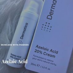 How To Fit Azelaic Acid Into Your Skincare Routine Azelaic Acid, Acne Skin, How To Treat Acne, Salicylic Acid, Reduce Inflammation, Skincare Routine, Natural Skin, Your Skin