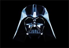 Star Wars Low Poly - Darth Vader on Behance