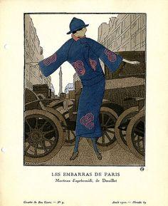 Designer: Doeuillet    Date: 1920    Description: Afternoon coat by Doeuillet