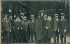 HaRav Avraham Yitzchak HaCohen Kook in the US in expedition of Rabbis