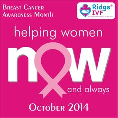 Breast Cancer Awareness Month October 2014