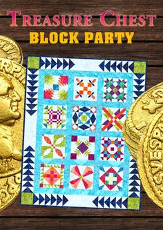 Free Treasure Chest Block Party in one complete digital package!