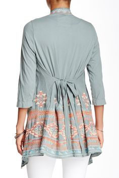 JWLA by Johnny Was - Embroidered Cardigan at Nordstrom Rack. Free Shipping on orders over $100.