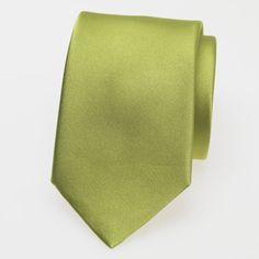 Krawatte lime satin