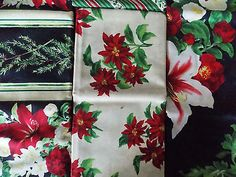 Holiday Treasures Table Topper/Place Mats/Runner for Wilmington Quilt Fabric Kit