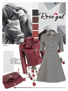 """Rosegal 35"" by vicky-1314 ❤ liked on Polyvore featuring vintage, womenswear, polyvorefashion and rosegal"