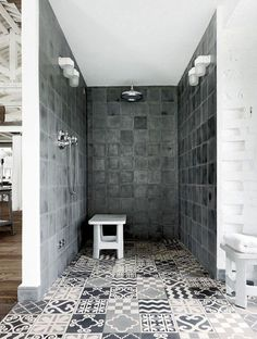 Douche italienne : 33 photos de douches ouvertes | Spa ...